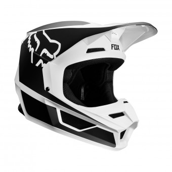 Casque Cross FOX V1 Przm Nero Bianco