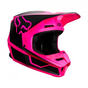 Casque Cross FOX V1 Przm Nero Rosa