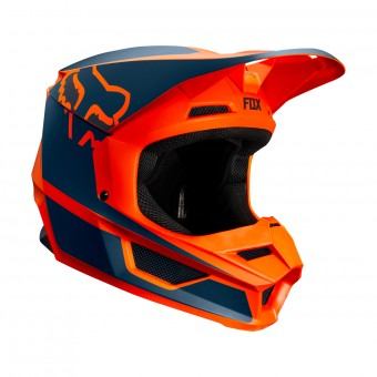 Casque Cross FOX V1 Przm Arancione
