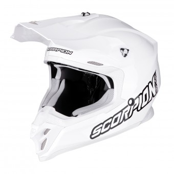 Casque Cross Scorpion VX-16 Air Bianco