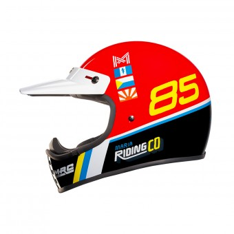 Casque Cross Nexx XG.200 Maria Dustyfrog Red