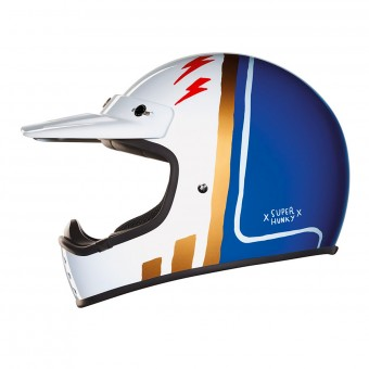 Casque Cross Nexx X.G200 Superhunky Blue