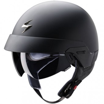 Casque Jet Scorpion EXO 100 Nero Opaco