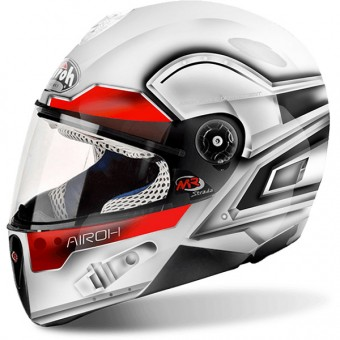 Casque Bambini Airoh Mr Strada Lunar White