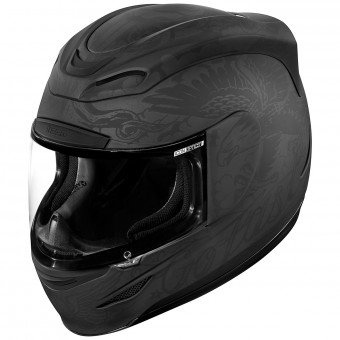Casque Integrale ICON Airmada Scrawl Matt Black