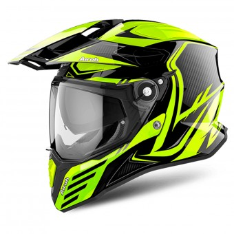 Casque Integrale Airoh Commander Carbon Yellow