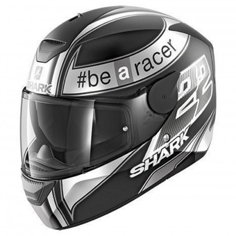 Casque Integrale Shark D-Skwal Replica Sam Lowes Mat KAW