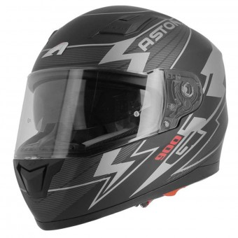 Casque Integrale Astone GT 900 Arrow Matt Grey