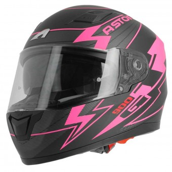 Casque Integrale Astone GT 900 Arrow Matt Pink