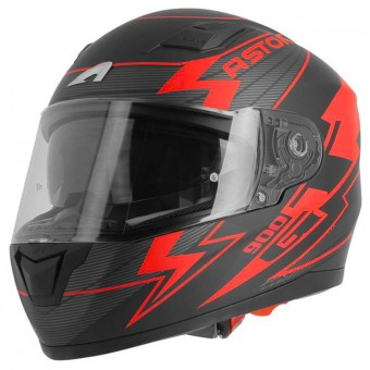 Casque Integrale Astone GT 900 Arrow Matt Red