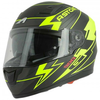 Casque Integrale Astone GT 900 Arrow Matt Yellow