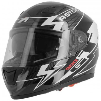 Casque Integrale Astone GT 900 Arrow White