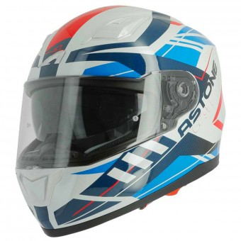 Casque Integrale Astone GT 900 Street Red Blue