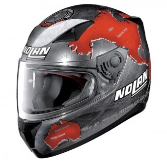 Casque Integrale Nolan N60 5 Gemini Replica C. Checa Chrome 27