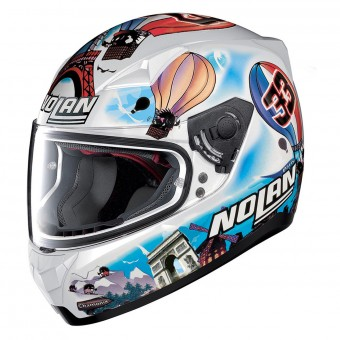 Casque Integrale Nolan N60 5 Gemini Replica M. Melandri France 38