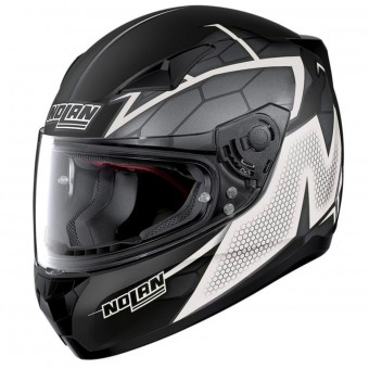 Casque Integrale Nolan N60 5 Hexagon Flat Black White 8
