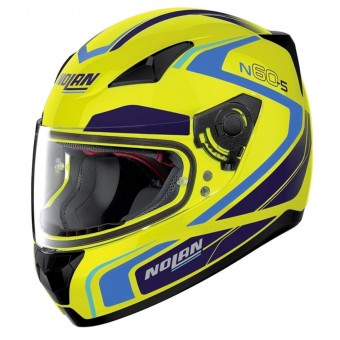 Casque Integrale Nolan N60 5 Practice Les Yellow 23