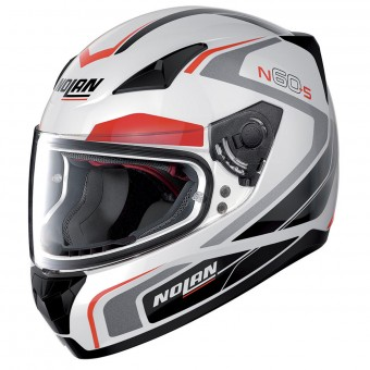 Casque Integrale Nolan N60 5 Practice Metal White 19