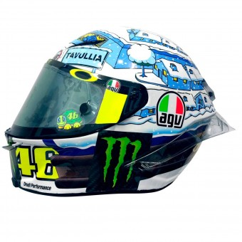 Casque Integrale AGV Pista GP R Rossi Winter Test 2017 Limited Edition
