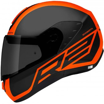 Casque Integrale Schuberth R2 Traction Orange