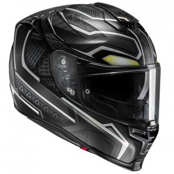 Casque Integrale HJC RPHA 70 Forvic Black Panther Marvel MC5SF