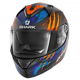 Casque Integrale Shark Ridill Threezy Mat KOB