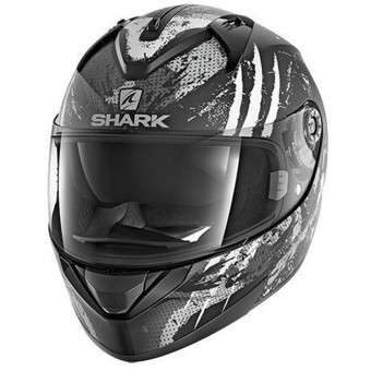Casque Integrale Shark Ridill Threezy Mat KWA