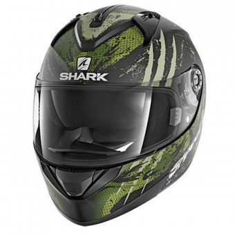 Casque Integrale Shark Ridill Threezy Mat KWG