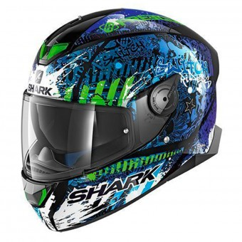 Casque Integrale Shark Skwal 2 Replica Switch Riders 2 KBG