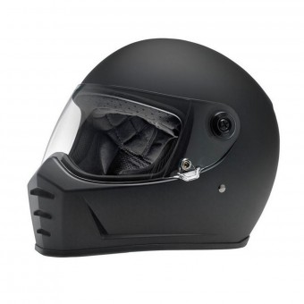 Casque Integrale Biltwell Splitter Flat Black