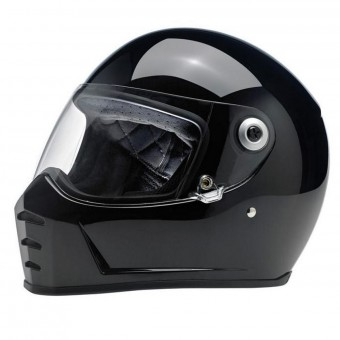 Casque Integrale Biltwell Splitter Gloss Black