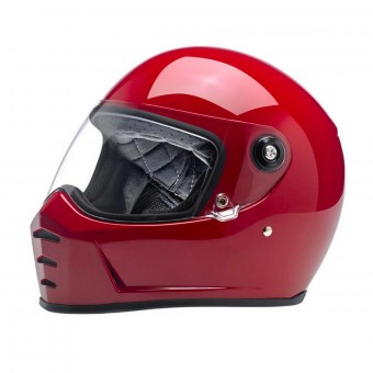 Casque Integrale Biltwell Splitter Gloss Blood Red