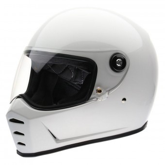 Casque Integrale Biltwell Splitter Gloss White