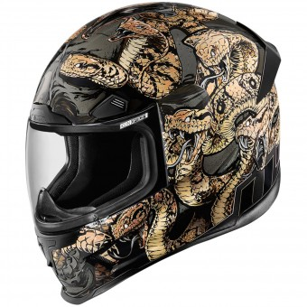 Casque Integrale ICON Aiframe Pro Cottonmouth Gold