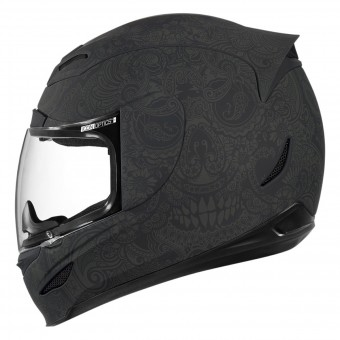 Casque Integrale ICON Airmada Chantilly Black Rubatone