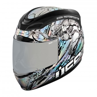Casque Integrale ICON Airmada Mechanica Grigio