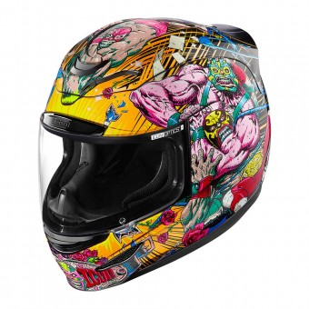 Casque Integrale ICON Airmada Rudos Black