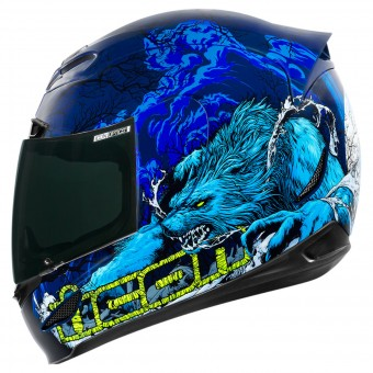 Casque Integrale ICON Airmada Thriller Blue