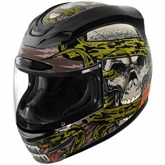 Casque Integrale ICON Airmada Vitriol Black