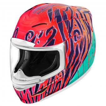 Casque Integrale ICON Airmada Wildchild Orange
