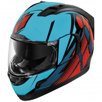 Casque Integrale ICON Alliance GT Primary Blue Red