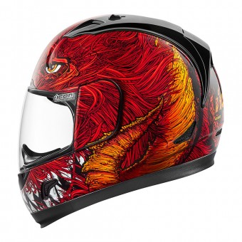 Casque Integrale ICON Alliance Lucifer Red