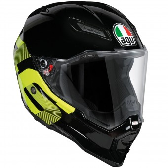 Casque Integrale AGV AX-8 Evo Naked Top Identity