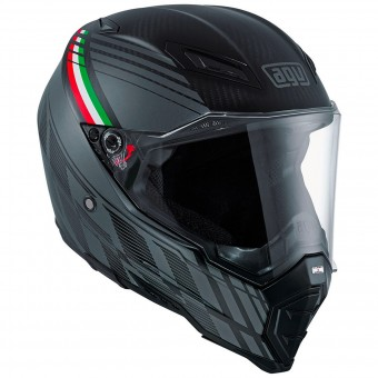 Casque Integrale AGV AX-8 Naked Carbon Black Forest