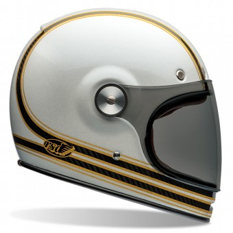 Casque Integrale Bell Bullitt Carbon Roland Sands Mojo White Gold