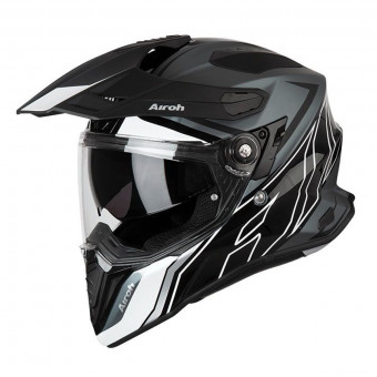 Casque Integrale Airoh Commander Duo Nero Bianco