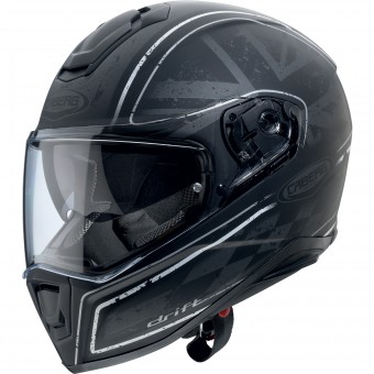 Casque Integrale Caberg Drift Armour Matt Black Anthracite