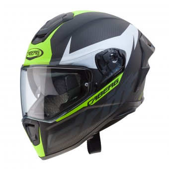 Casque Integrale Caberg Drift Evo Carbonio Opaco Antracite Giallo