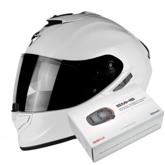 Casque Integrale Scorpion Exo 1400 Air Pearl White