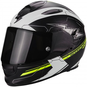 Casque Integrale Scorpion Exo 510 Air Cross Matt Black Neon Yellow
